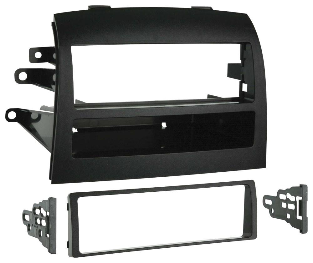 medium resolution of metra dash kit for select 2004 2010 toyota sienna black 99 8208 best buy