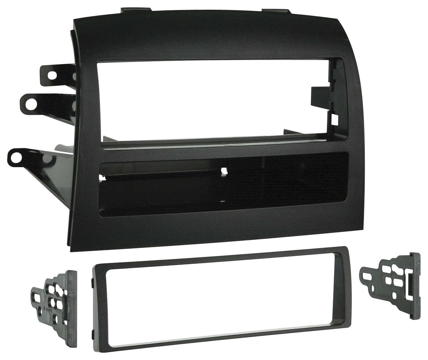 hight resolution of metra dash kit for select 2004 2010 toyota sienna black 99 8208 best buy
