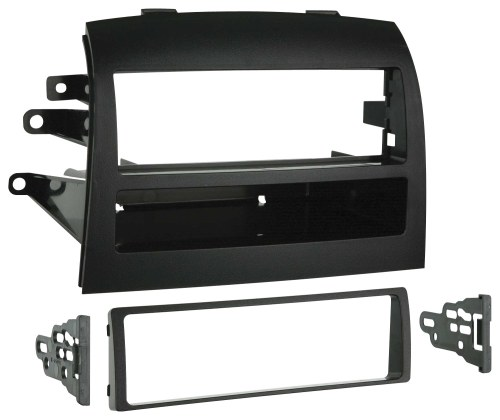 small resolution of metra dash kit for select 2004 2010 toyota sienna black 99 8208 best buy