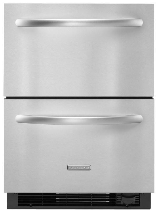 Kitchenaid Architect Ii Series 4.8 Cu. Ft. Builtin Double Drawer Refrigerator Freezer