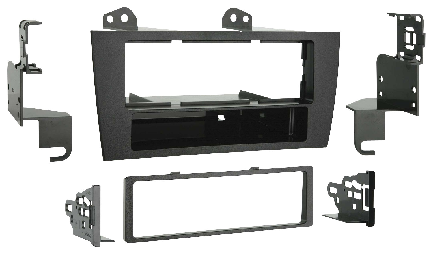 hight resolution of metra dash kit for select 1997 2001 lexus es 300 black 99 8155 best buy