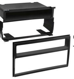 metra dash kit for select 2007 2011 nissan versa black front standard [ 1500 x 1027 Pixel ]