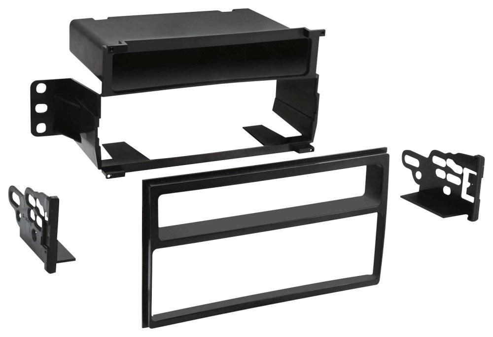medium resolution of metra dash kit for select 2007 2011 nissan versa black front standard