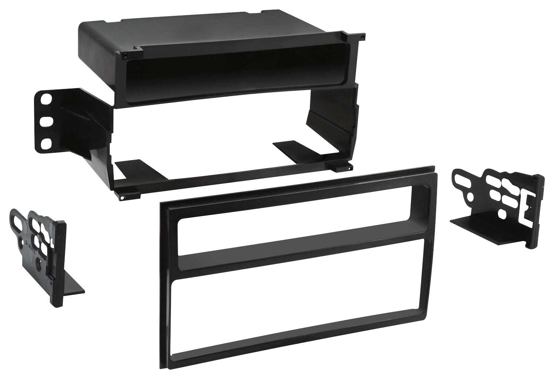 hight resolution of metra dash kit for select 2007 2011 nissan versa black front standard