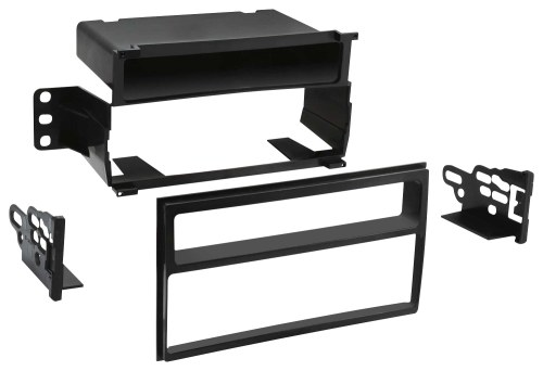 small resolution of metra dash kit for select 2007 2011 nissan versa black front standard
