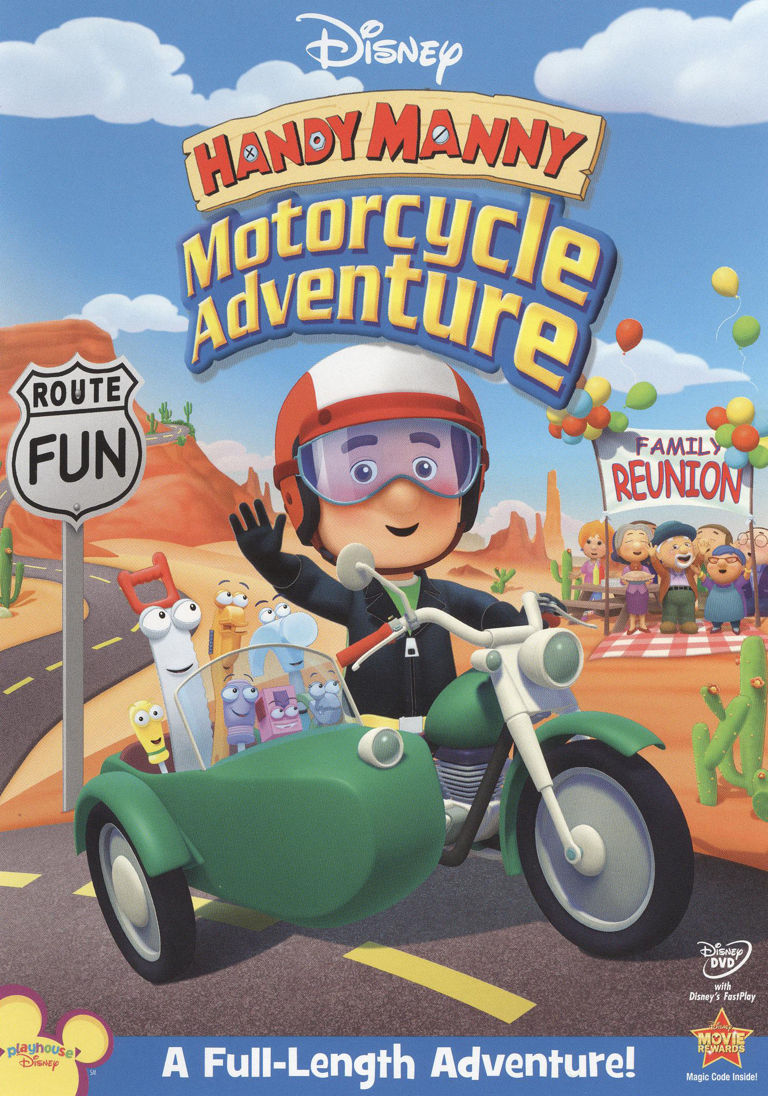 Manny's Best Friend : manny's, friend, Handy, Manny:, Motorcycle, Adventure, [DVD], [2009]