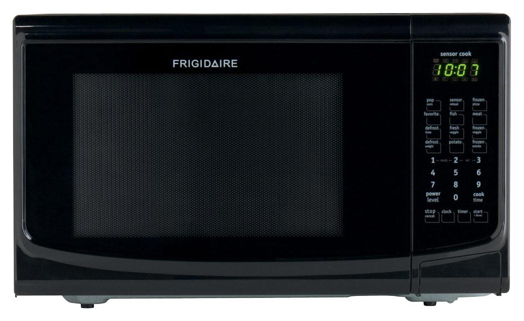 frigidaire 1 4 cu ft mid size microwave black
