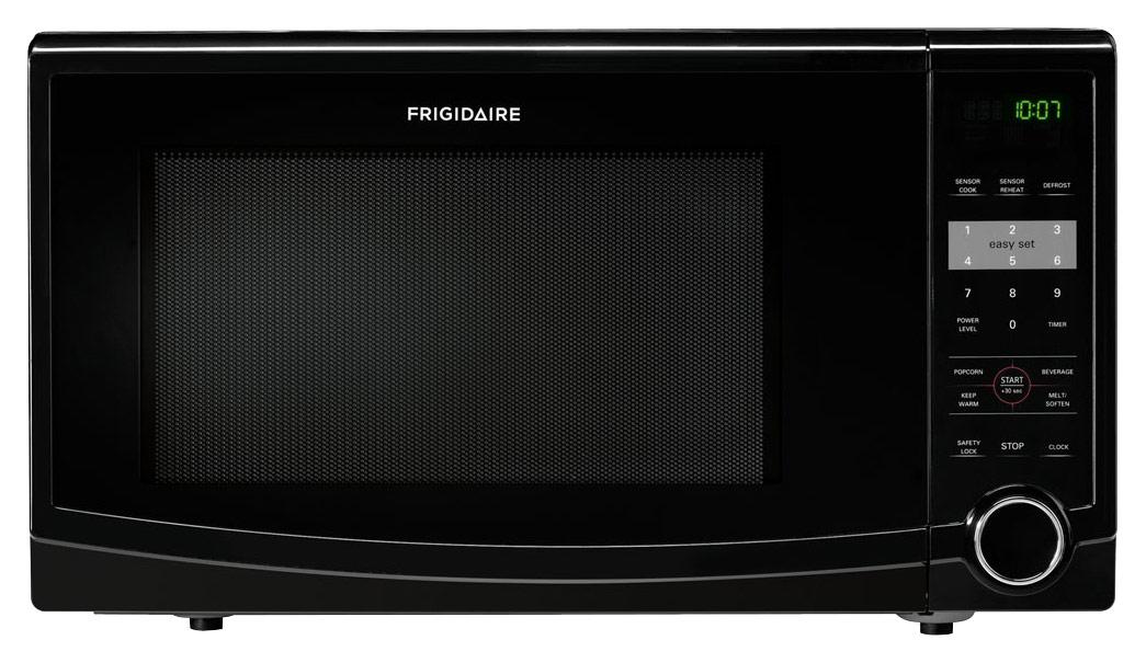 frigidaire 1 1 cu ft mid size microwave black