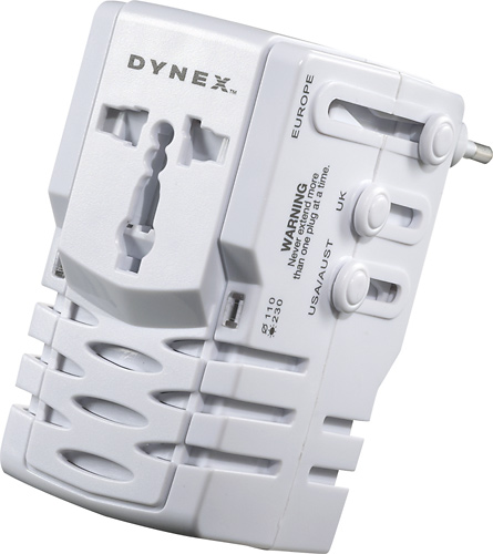 Dynex™ - Adapter and Converter Unit - Larger Front