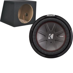 Dual Voice Coil Subwoofer Box 2001 Ford Windstar Radio Wiring Diagram Kicker Compr 10 2 Ohm And Metra