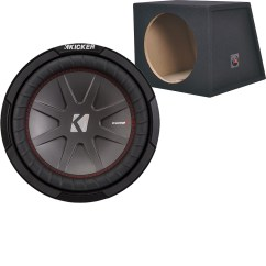 Dual Voice Coil Subwoofer Box Kenmore Dryer Parts Diagram Kicker Compr 12 2 Ohm And Metra