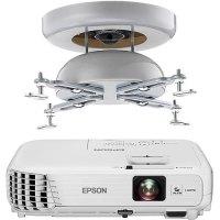 Epson Home Cinema 740HD Projector & Sanus Universal ...