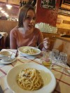 when in Rome...EAT PASTA
