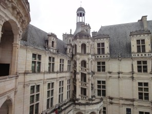view to the Kings corner in Chambord