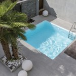La piscine design et personnalisable d'AQUADISCOUNT : la piscine citadine carrée