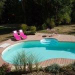 La piscine familiale, design et zen