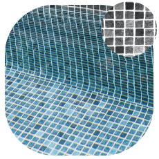 Liner piscine Persia Noir - Aquadiscount