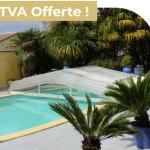 Abri bas télescopique- TVA Offerte