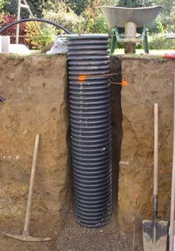 construction pourquoi comment faire drainage piscine