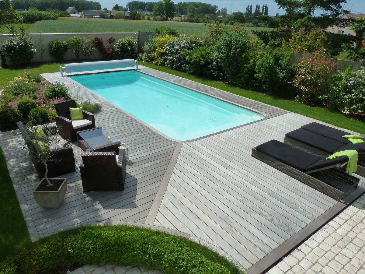 Terrasse Bois Gris Anthracite Terrasse De Jardin En Bois Composite