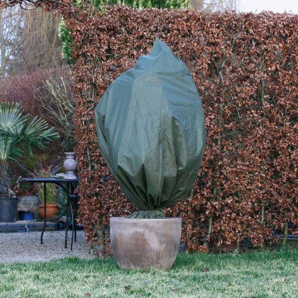 Nature Husă anti-îngheț din fleece, verde, 2,5 x 3 m, 70 g/m²