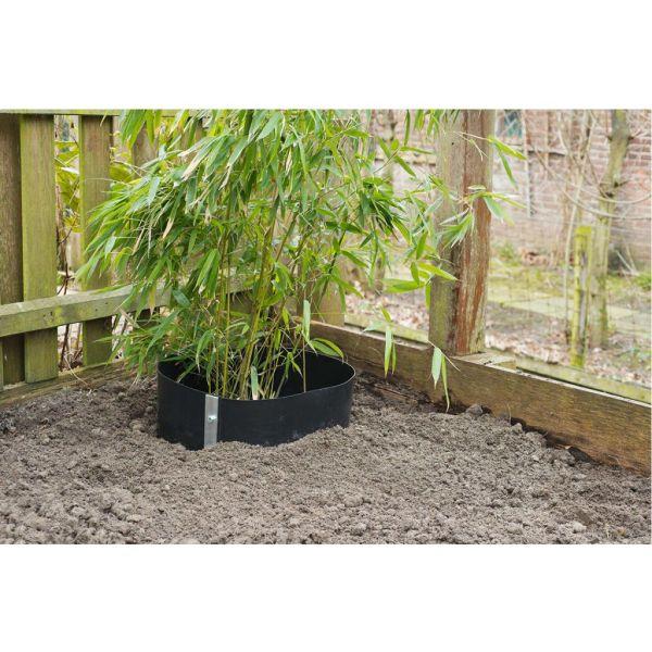 Nature Folie pentru rădăcini 0,7 x 5 m HDPE negru 6030227