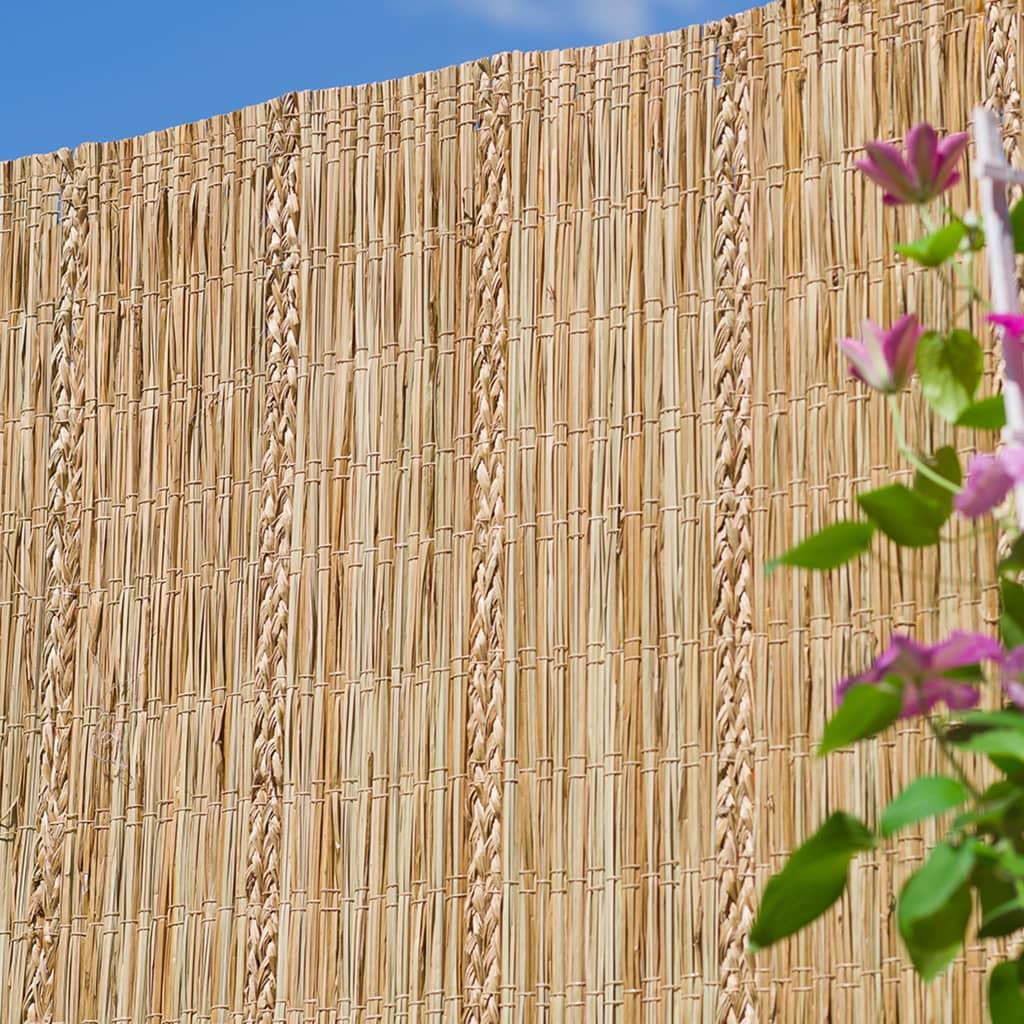Nature Paravan de grădină, 3 x 1 m, rogoz