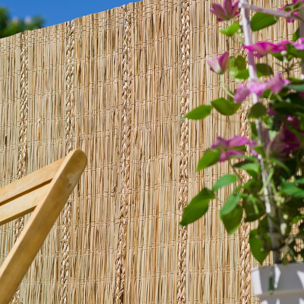 Nature Paravan de grădină, 3 x 1,2 m, rogoz
