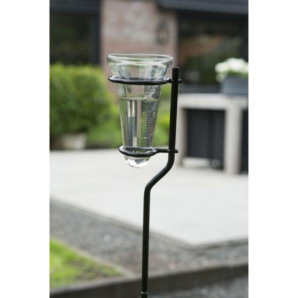 Nature Contor de ploaie cu suport din sticlă 130 cm 6080089