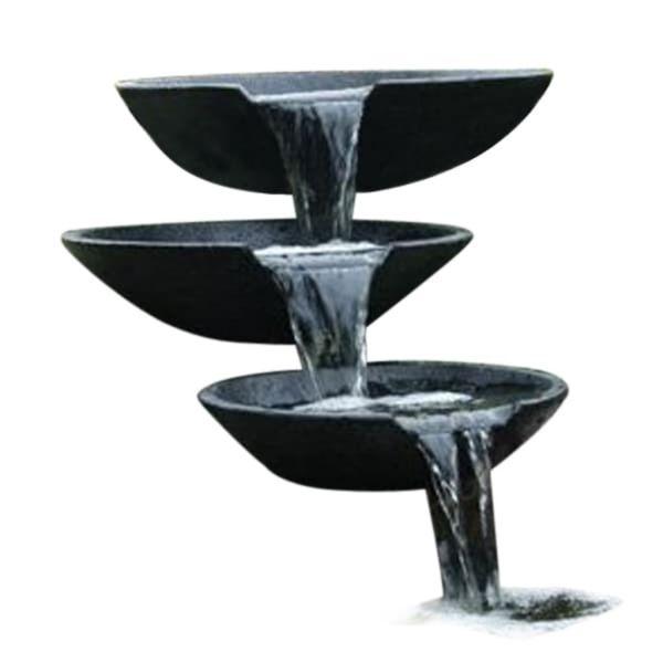 Ubbink Fântână de grădină tip cascadă în formă de scoici 35/45/55 cm