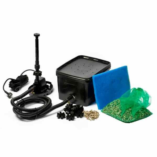 Ubbink BioPure 2000 Basic Filtru cu pompă pentru iaz, formă pătrată