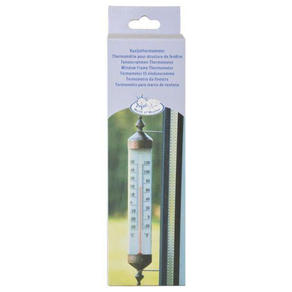 Esschert Design Termometru de fereastră, 25 cm TH70