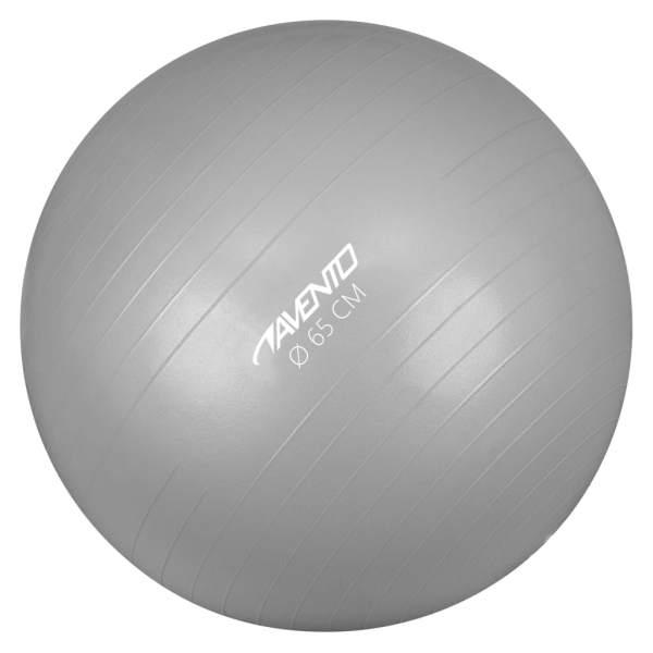 Avento Minge de fitness/gimnastică, argintiu, diam.65 cm