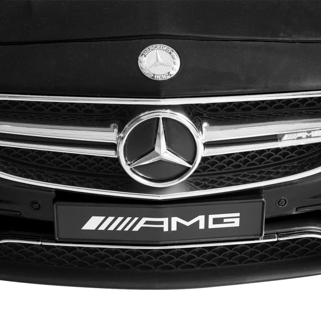 vidaXL Mașinuță electrică Mercedes Benz AMG S63, negru, 12 V