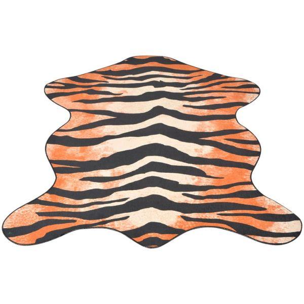 vidaXL Covor cu formă și imprimeu de tigru, 150 x 220 cm