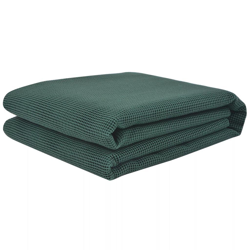 vidaXL Covor pentru cort, verde, 250 x 500 cm