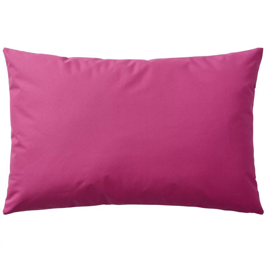 Perne de exterior, 2 buc, 60×40 cm, roz