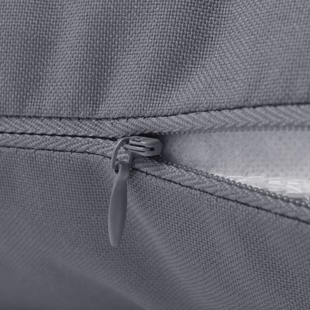 vidaXL Perne de exterior, 2 buc., gri, 45 x 45 cm