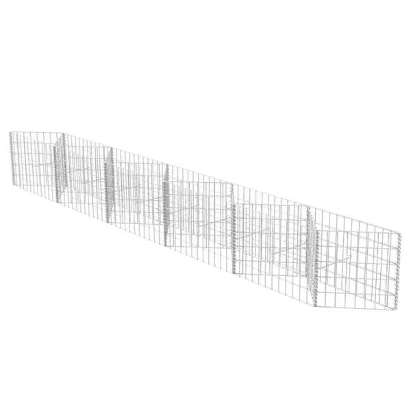 Coș gabion, 300 x 30 x 50 cm, oțel galvanizat