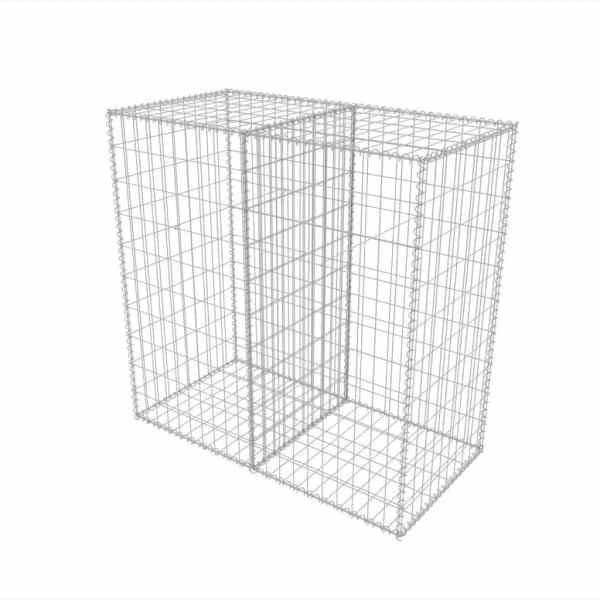 Coș gabion, 100 x 50 x 100 cm, oțel galvanizat
