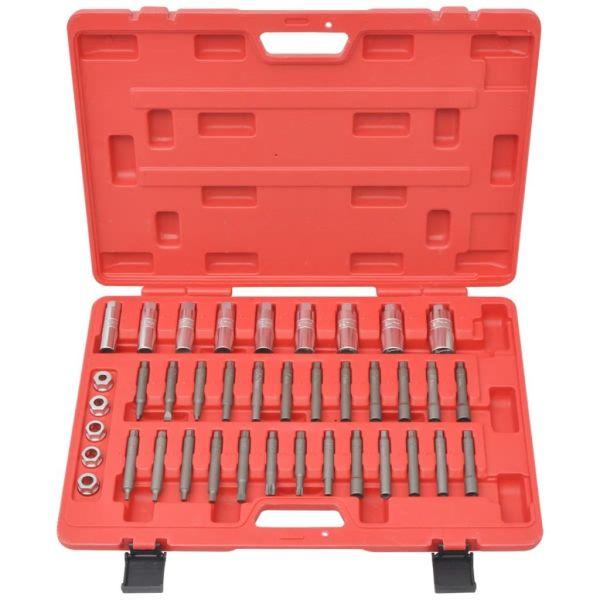 Kit de instalare pentru bare comprimate/amortizoare, 39 piese