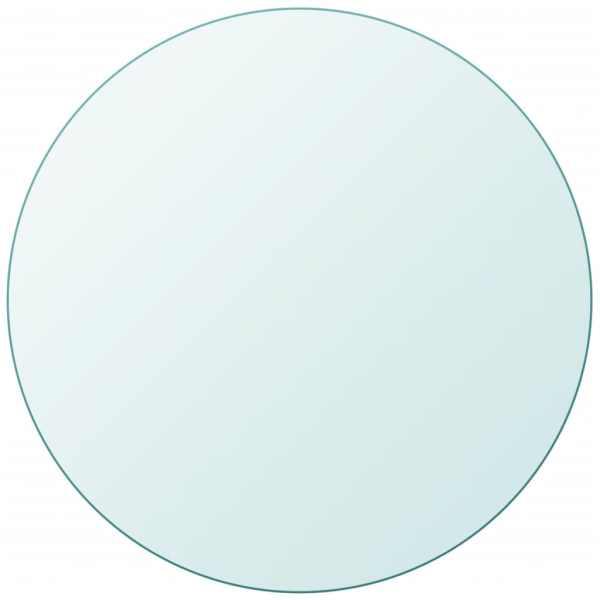 vidaXL Blat de masă din sticlă securizată rotund 400 mm