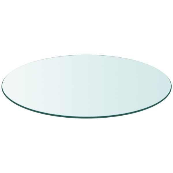 Blat de masă din sticlă securizată rotund 400 mm