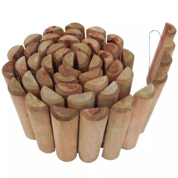 vidaXL Rolă din bușteni, 250 x 30 cm, lemn de pin tratat