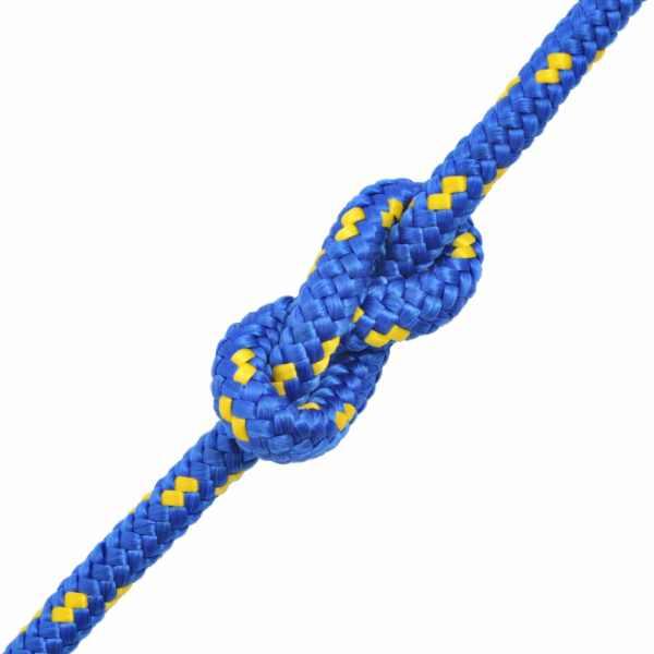 Frânghie marinărească din polipropilenă 12 mm 50 m, albastru