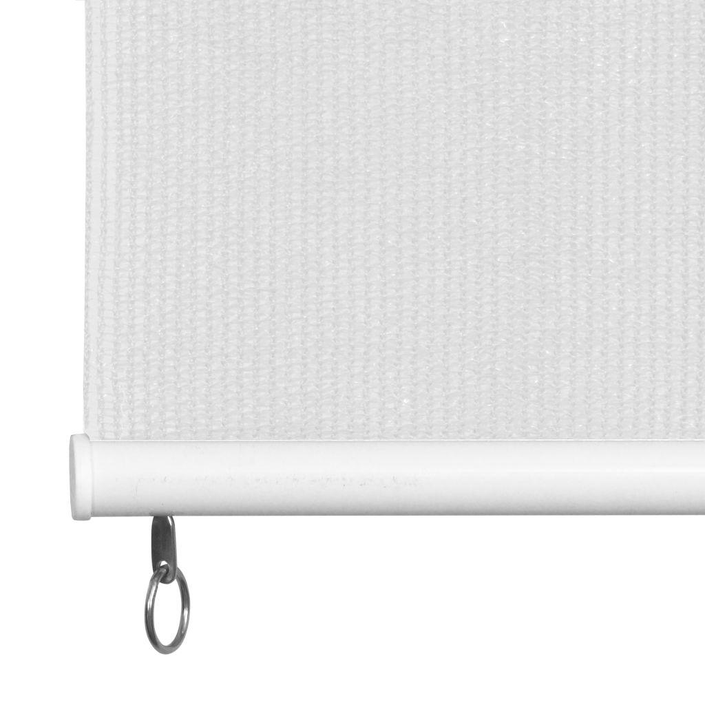 Jaluzea tip rulou de exterior, 160 x 230 cm alb