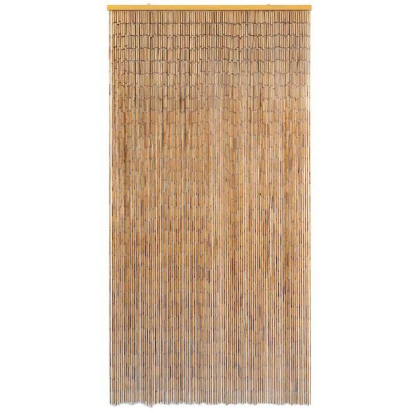 vidaXL Perdea de ușă pentru insecte, bambus, 100×200 cm