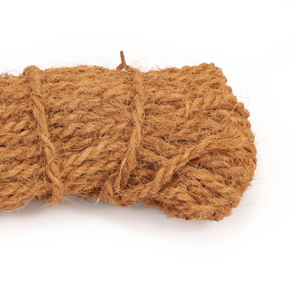 Frânghie din fibră de nucă de cocos, 8-10 mm, 200 m