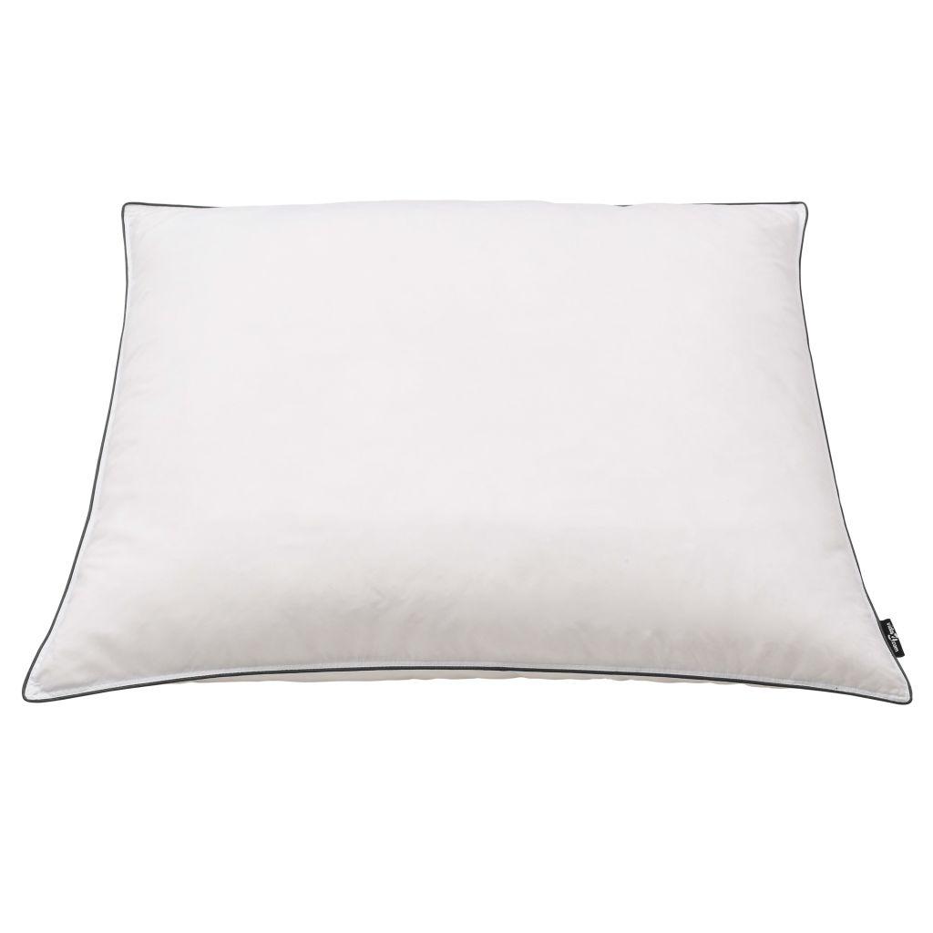 vidaXL Perne cu umplutură din puf/pene, 2 buc., alb, 70 x 60 cm