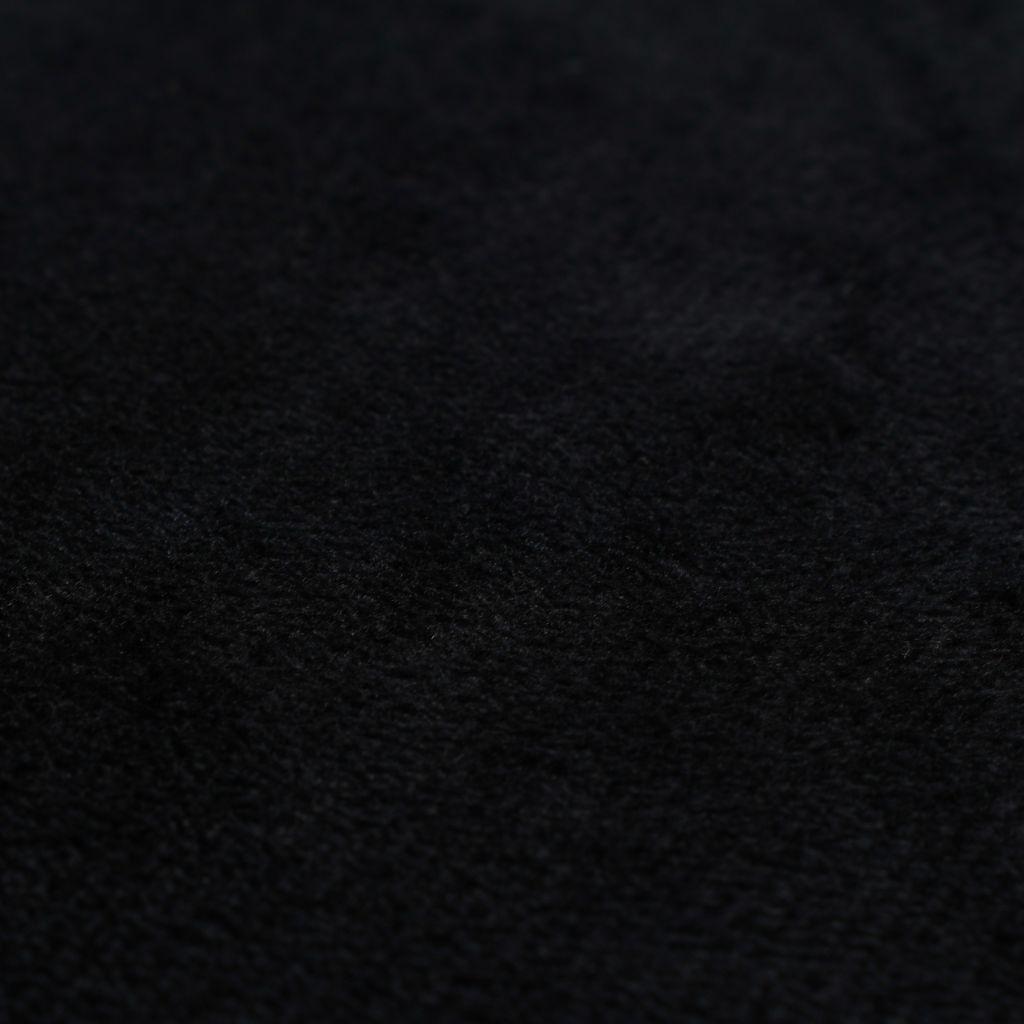 Huse de perne decorative 4 buc. Velur 40×40 cm Negru